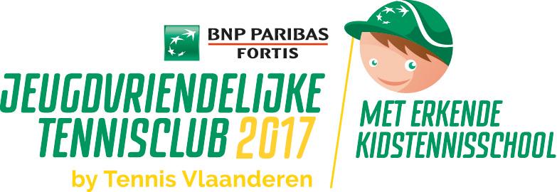 Jeugdvriendelijke Tennisclub + Erkende KidsTennisschool 2017!